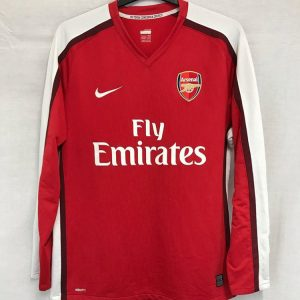 78f29a23c Arsenal Long Sleeve Football Shirt 2008 10 Adults Large Nike