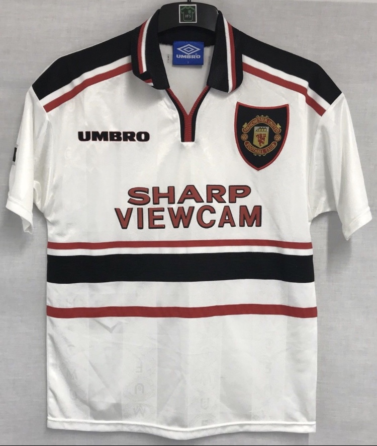 bd1c8bdc3 Manchester United Football Shirt 1997 99 Adults Small Umbro. 🔍. instock