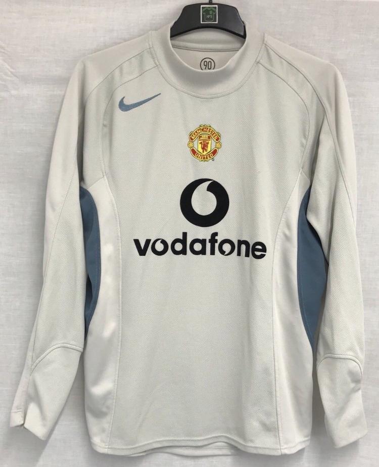 huge selection of d5e78 08a97 Manchester United Goalkeeper Football Shirt 2004/05 Adults Medium Nike