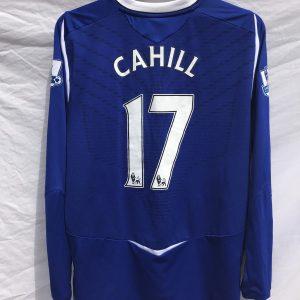 Everton Tim Cahill 17 LS Football Shirt 2008 09 Adults XL Umbro d619ce04a