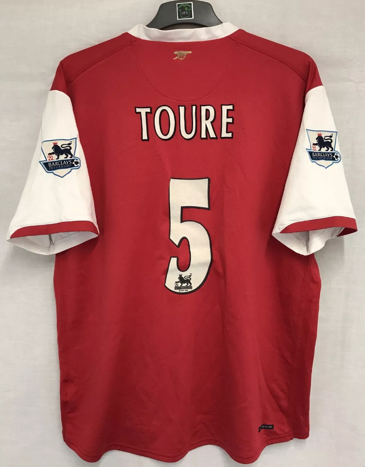 86f378044 Arsenal Kolo Toure 5 Football Shirt 2006 08 Adults XL Nike. 🔍. instock
