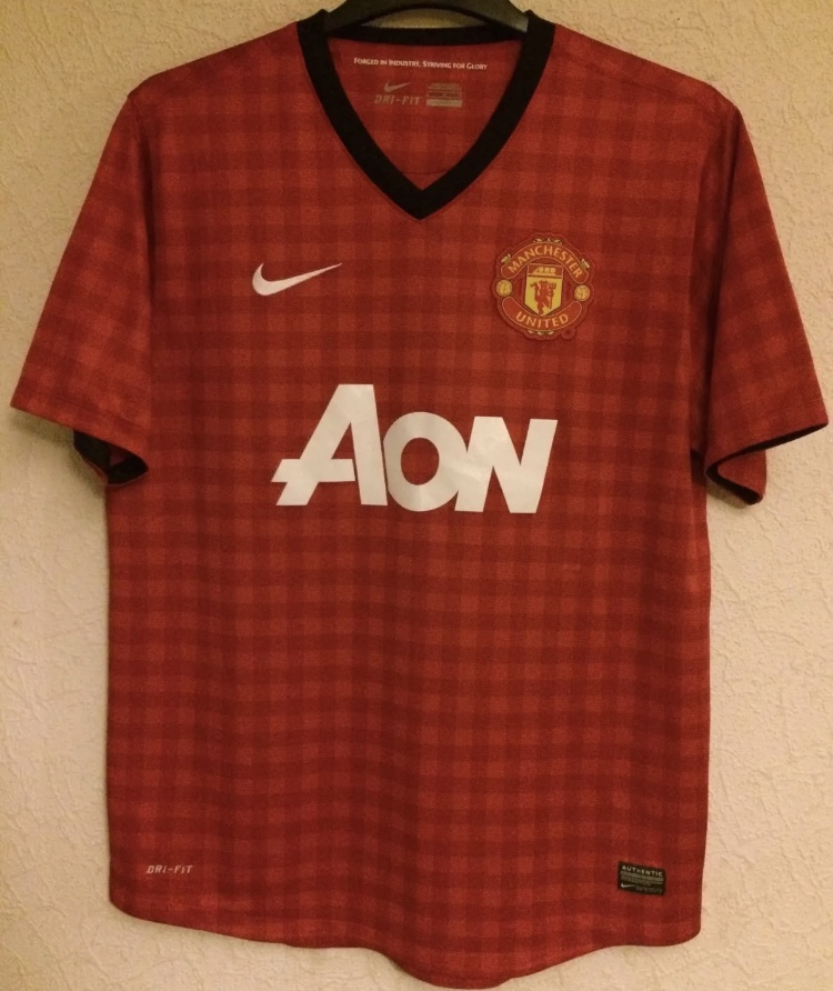 916838ef6 Manchester United Football Shirt 2012 13 Adults Large Nike ...