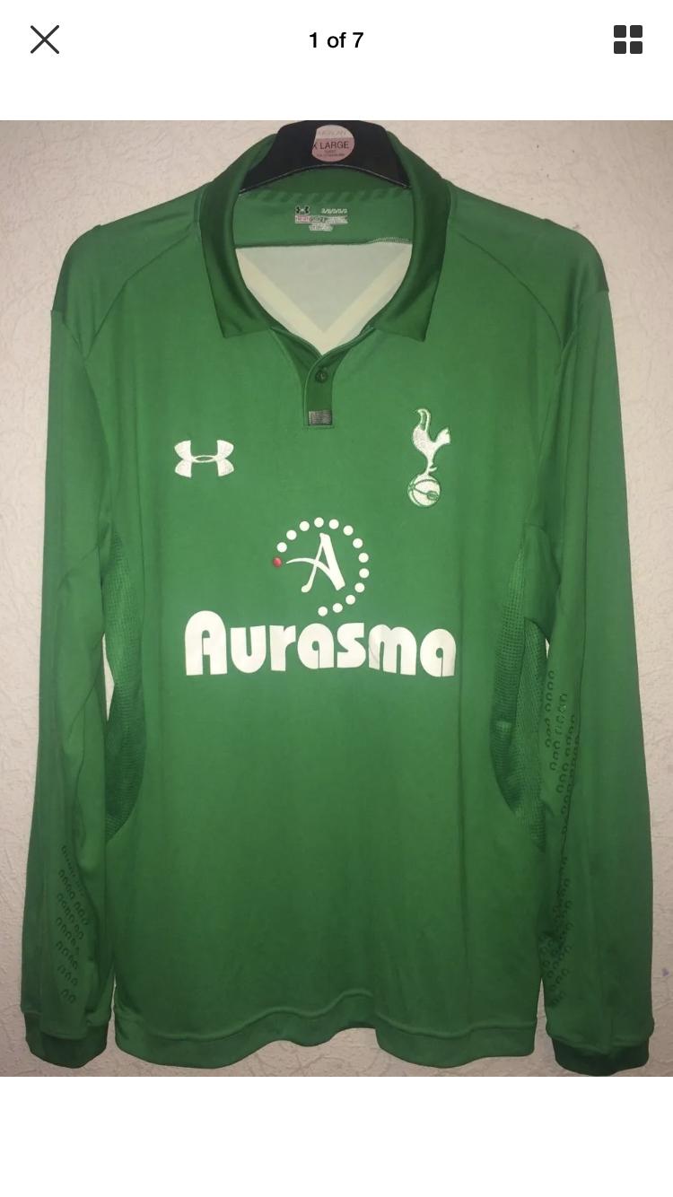 06c899a266e Tottenham Hotspur GK Football Shirt 2012 13 Adults XL Under Armour. 🔍.  instock