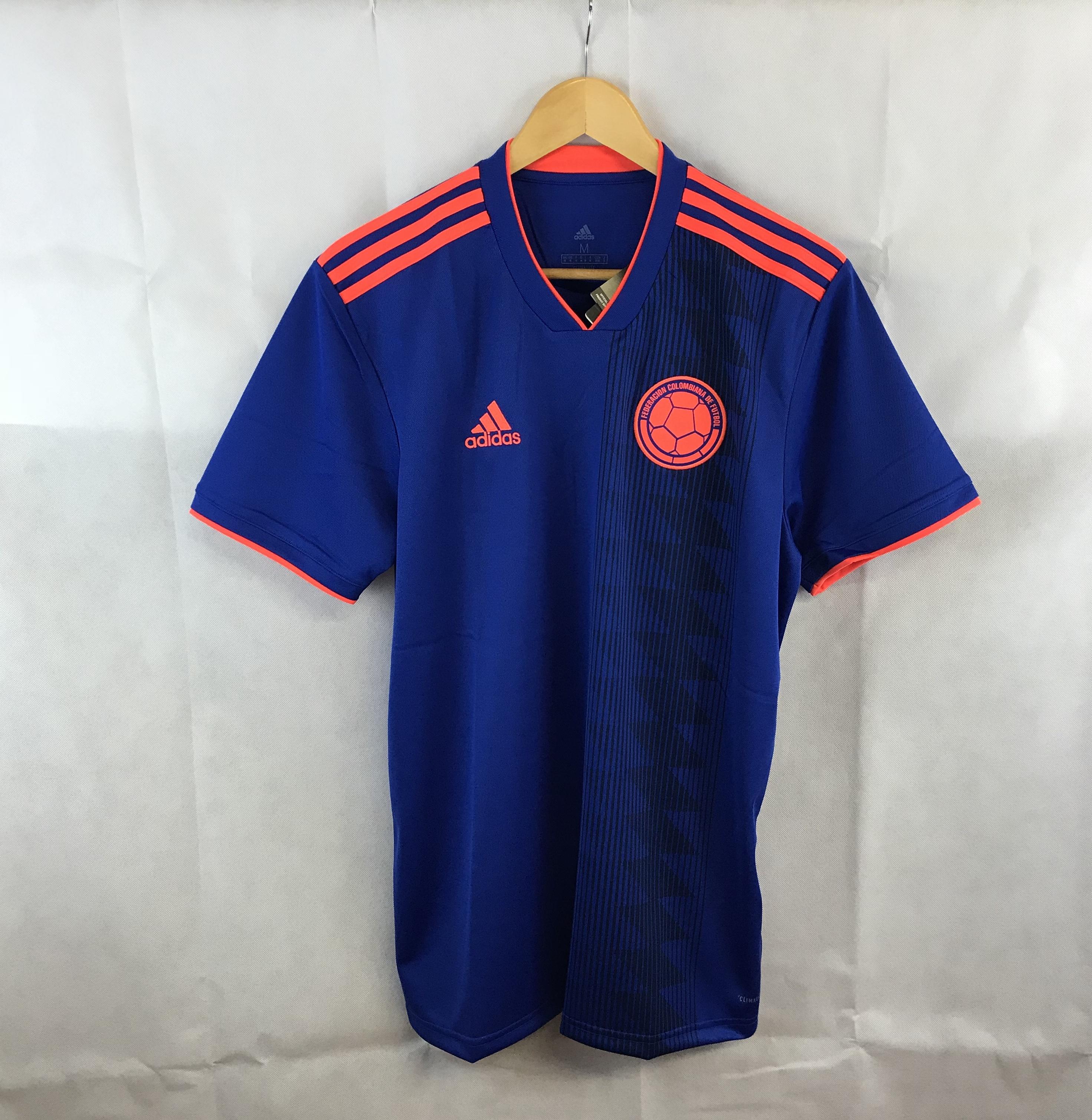 d24b85d9a85b1 Colombia Away Football Shirt 2018/19 Adults Small Adidas