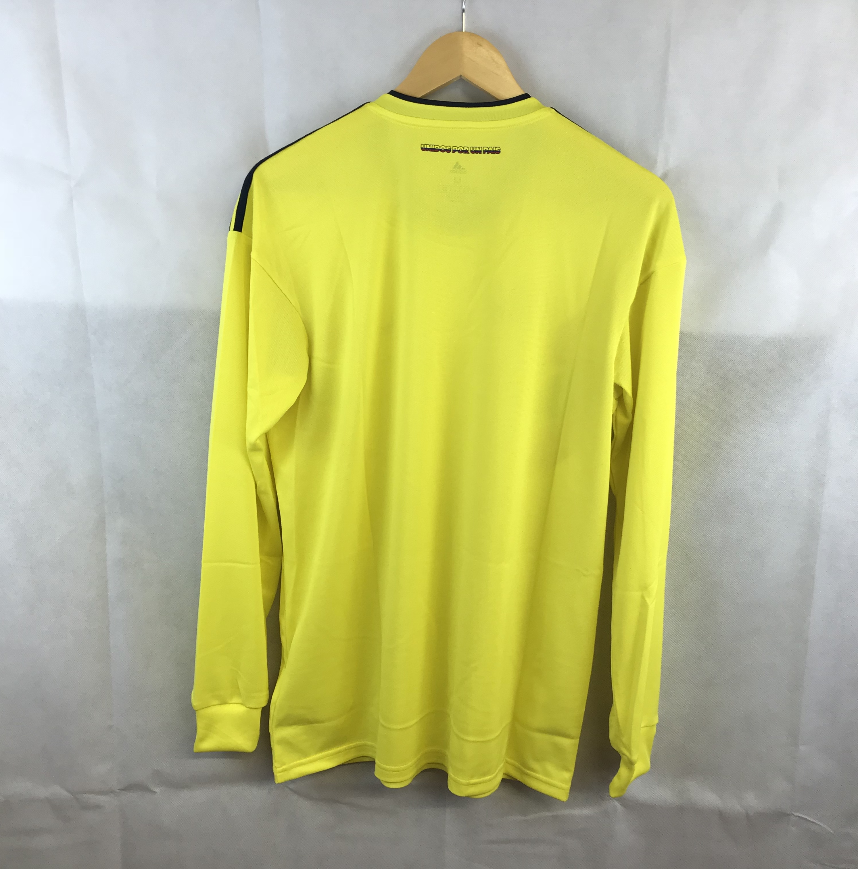 147991e75 Colombia L S Home Football Shirt 2018 19 Adults Large Adidas. 🔍. instock