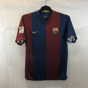 dee79c00465 Barcelona Home Football Shirt 2006 07 Adults Medium Nike