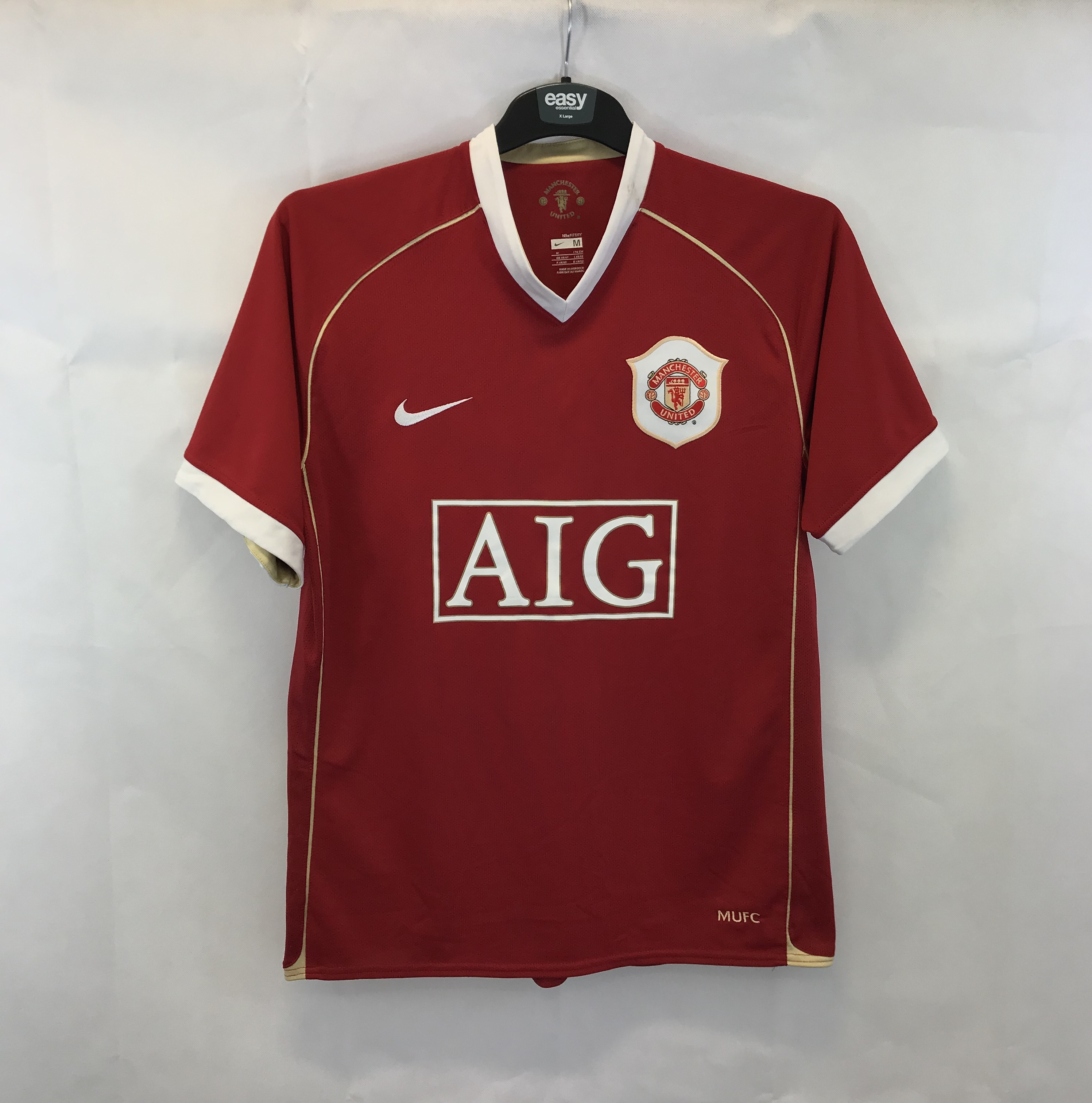 805b1511fe6 Manchester United Ronaldo 7 Home Football Shirt 2006 07 Adults Medium Nike.  🔍. instock