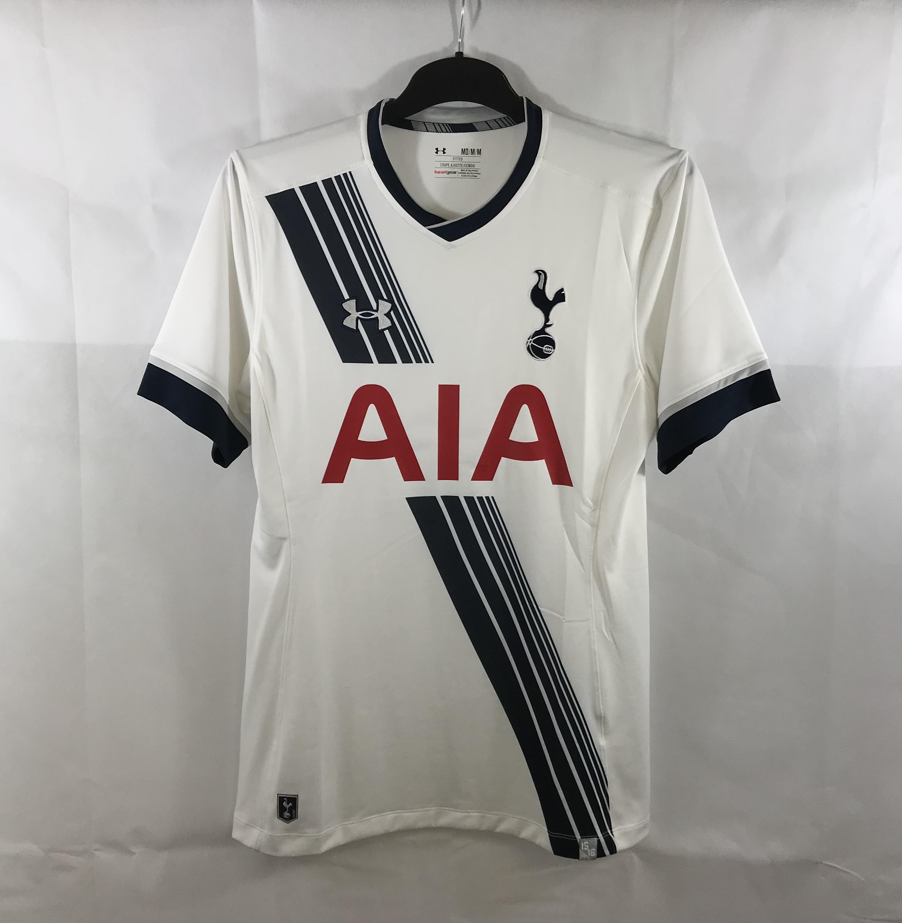 ec0537bf Tottenham Hotspur Home Football Shirt 2015/16 Adults Medium Under Armour.  🔍. instock