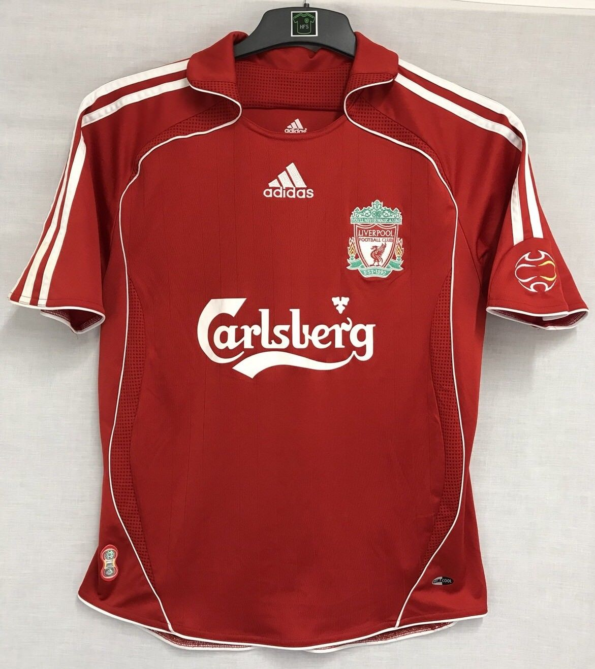 805d73623 Liverpool Steven Gerrard 8 Football Shirt 2006 08 Adults XS Adidas. 🔍.  instock
