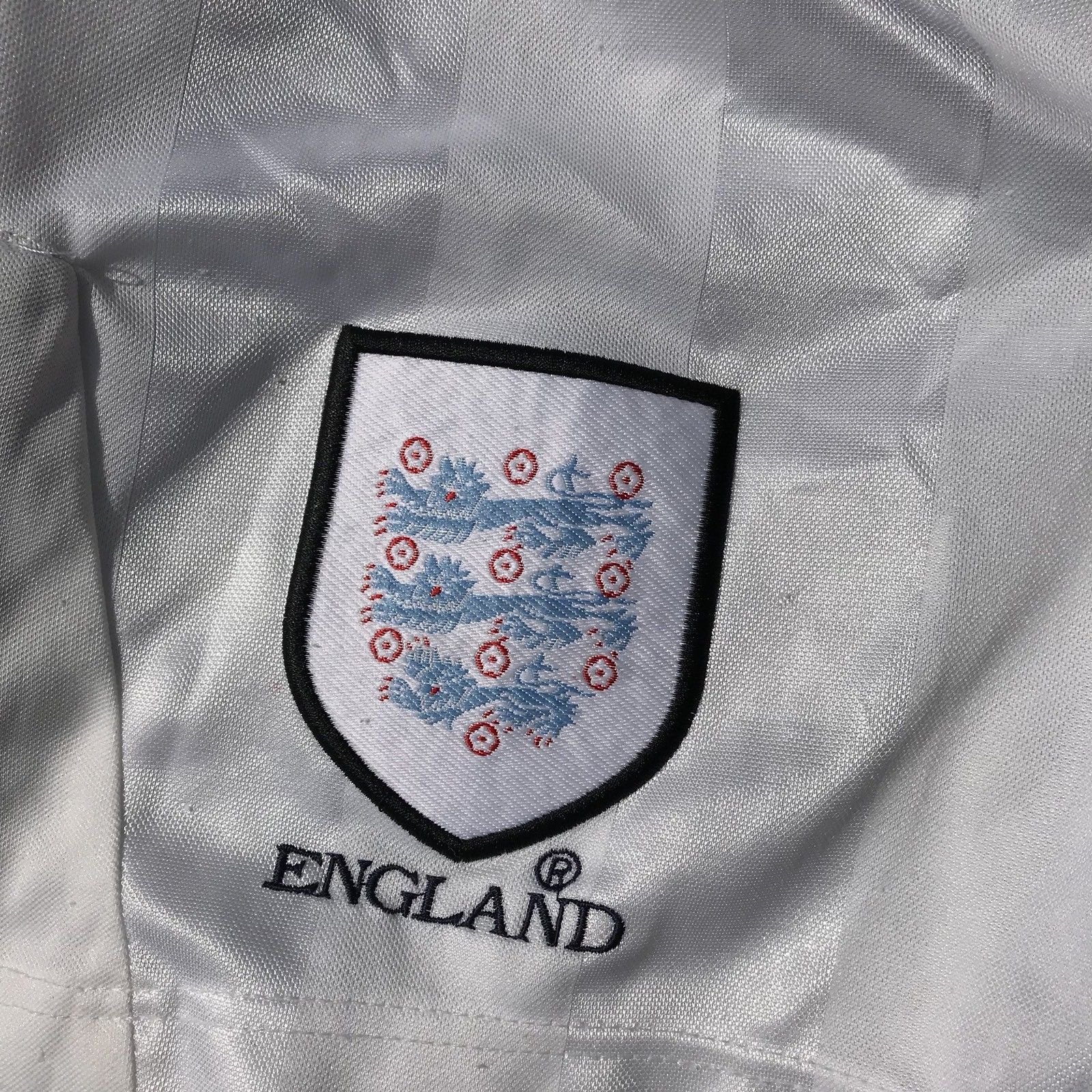 50a762af134 England 199799 Umbro Boys Shorts Football Shirt Large Children's amp;  CwHZBCq