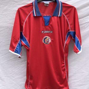 ad2c9f79b Costa Rica Football Shirt 2002/03 Adults Large Joma