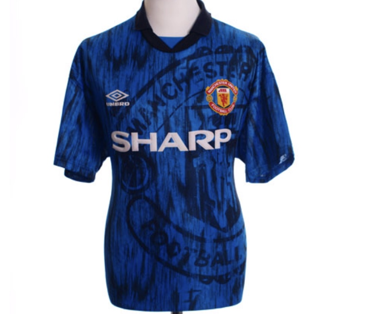 bf1c02abf Manchester United Football Shirt 1992 93 Adults XL Umbro – Historic ...