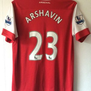 e45673569c0 Arsenal Andrey Arshavin 23 Football Shirt 2010 11 Adults Large Nike