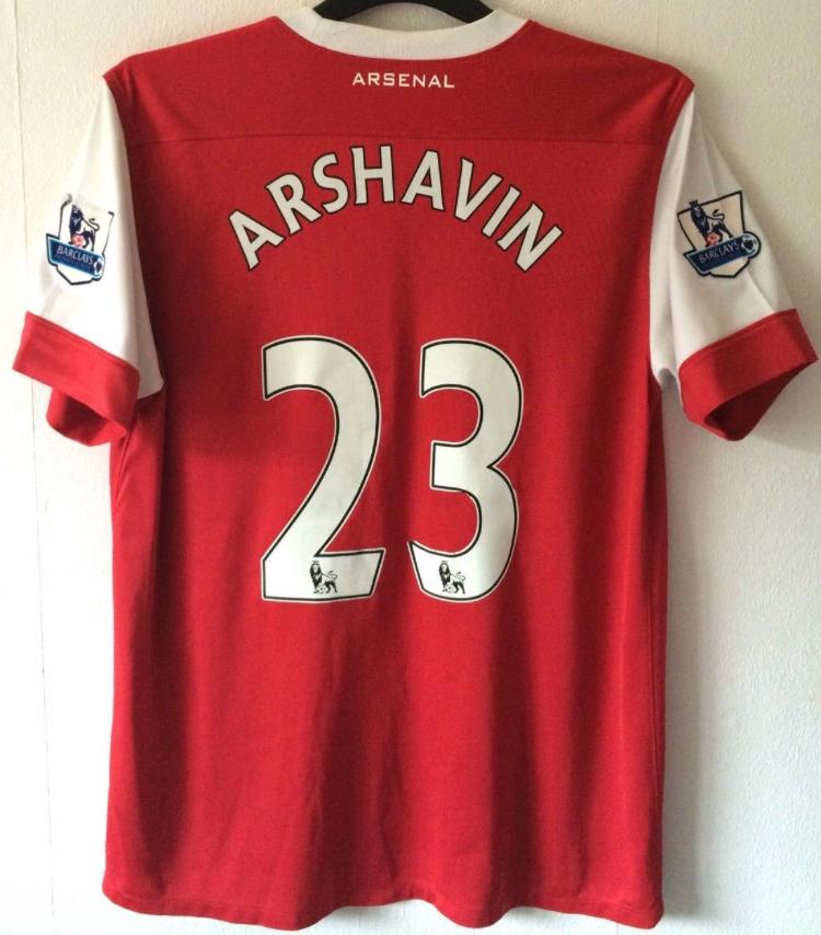 310c37c1816 Arsenal Andrey Arshavin 23 Football Shirt 2010 11 Adults Large Nike. 🔍.  instock