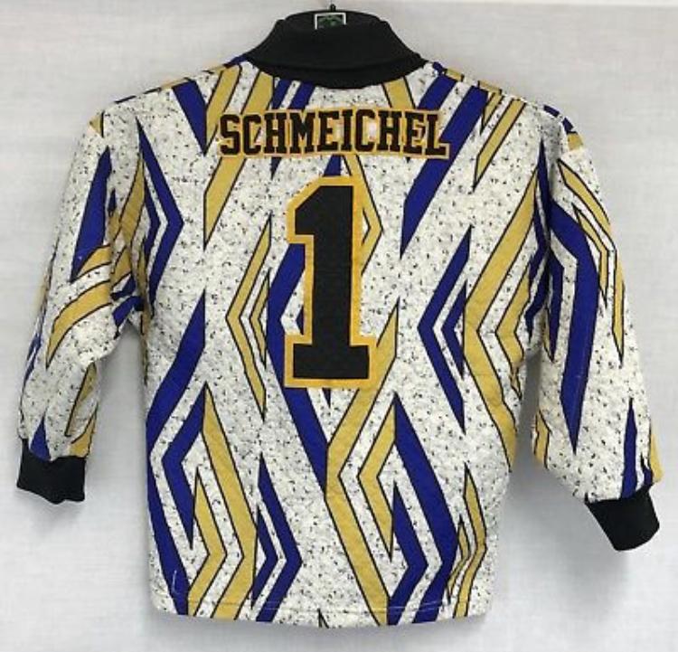 0084d07d0e2 Manchester United Schmeichel 1 GK Football Shirt 1993/95 10/11 Years Umbro