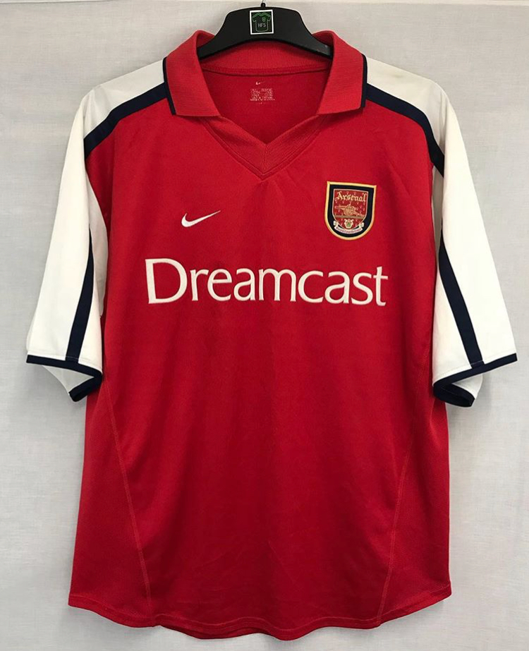 detailed look b715c edfa7 Arsenal Football Shirt 2000/02 Adults Large Nike