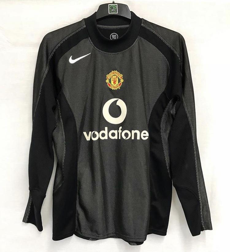 huge selection of f9027 1f146 Manchester United Goalkeeper Football Shirt 2004/05 Adults Medium Nike