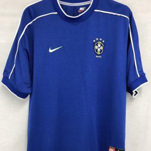 34ed81e031d Brazil Football Shirt 1998/00 Adults Large Nike