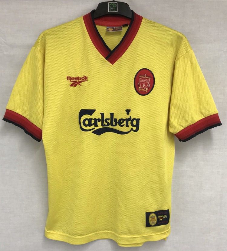 db256ef0a Liverpool Football Shirt 1997 99 Adults Medium Reebok – Historic ...