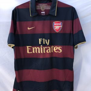 c4156d01 Arsenal Football Shirt 2007/08 Adults Large Nike