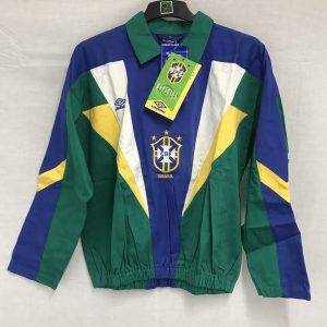 f7c7428eb26 BNWT BrazIl Training Drill Football Jacket 1991/93 Adults Large Umbro