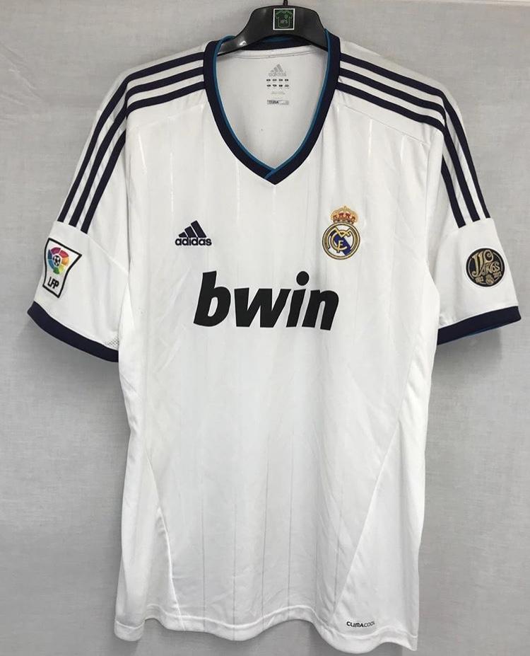 a8e17760e Real Madrid Football Shirt 2012/13 Adults XXL Adidas – Historic ...