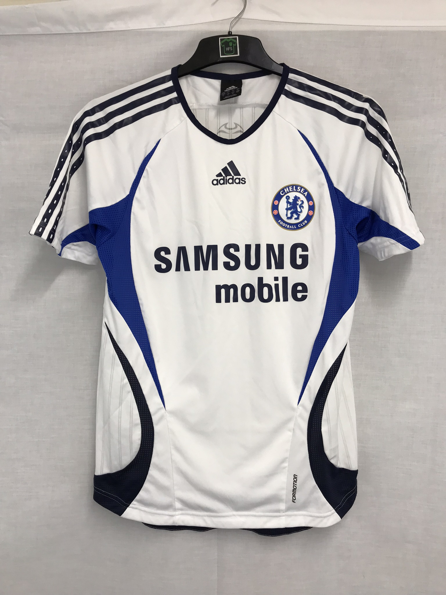 free shipping a7ca3 60f3a Chelsea Training Football Shirt 2006/07 Adults Small Adidas