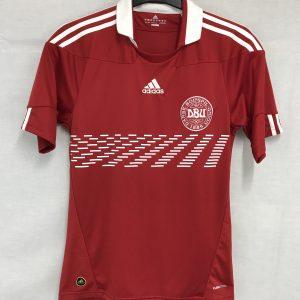 cb720f39295 Denmark Football Shirt 2010/11 Adults Small Adidas