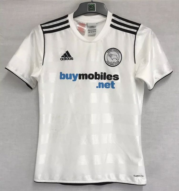 official photos meet promo code Derby County Home Football Shirt 2011/12 Adults XS Adidas A19