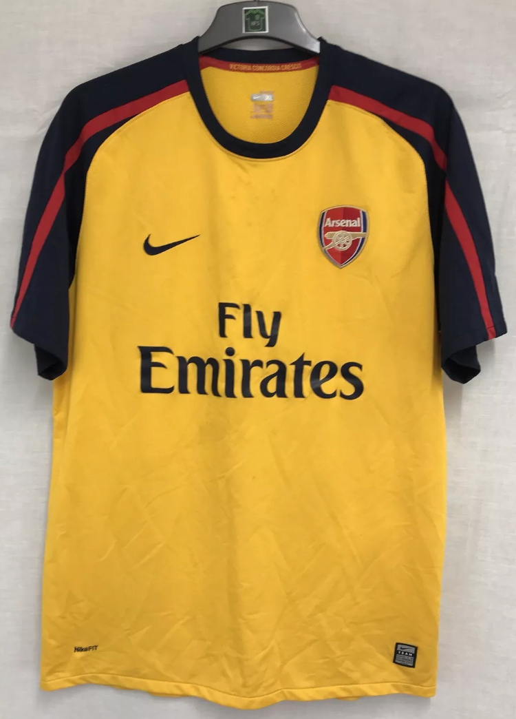 sports shoes 09f3f 3ab8b Arsenal Football Shirt 2008/09 Adults XL Nike