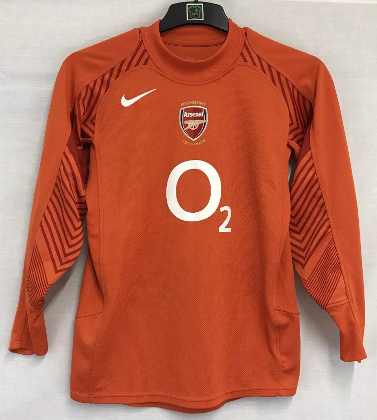 on sale 09586 304af Arsenal Goalkeeper Football Shirt 2005/06 Children's 12/13 Years Nike