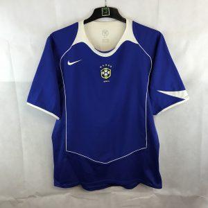 e94b1fe6002 Brazil Away Football Shirt 2004/06 Adults Large Nike