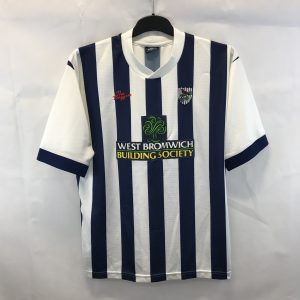 6221dd8be7 West Bromwich Albion Home Football Shirt 2002/03 Adults Large The Baggies