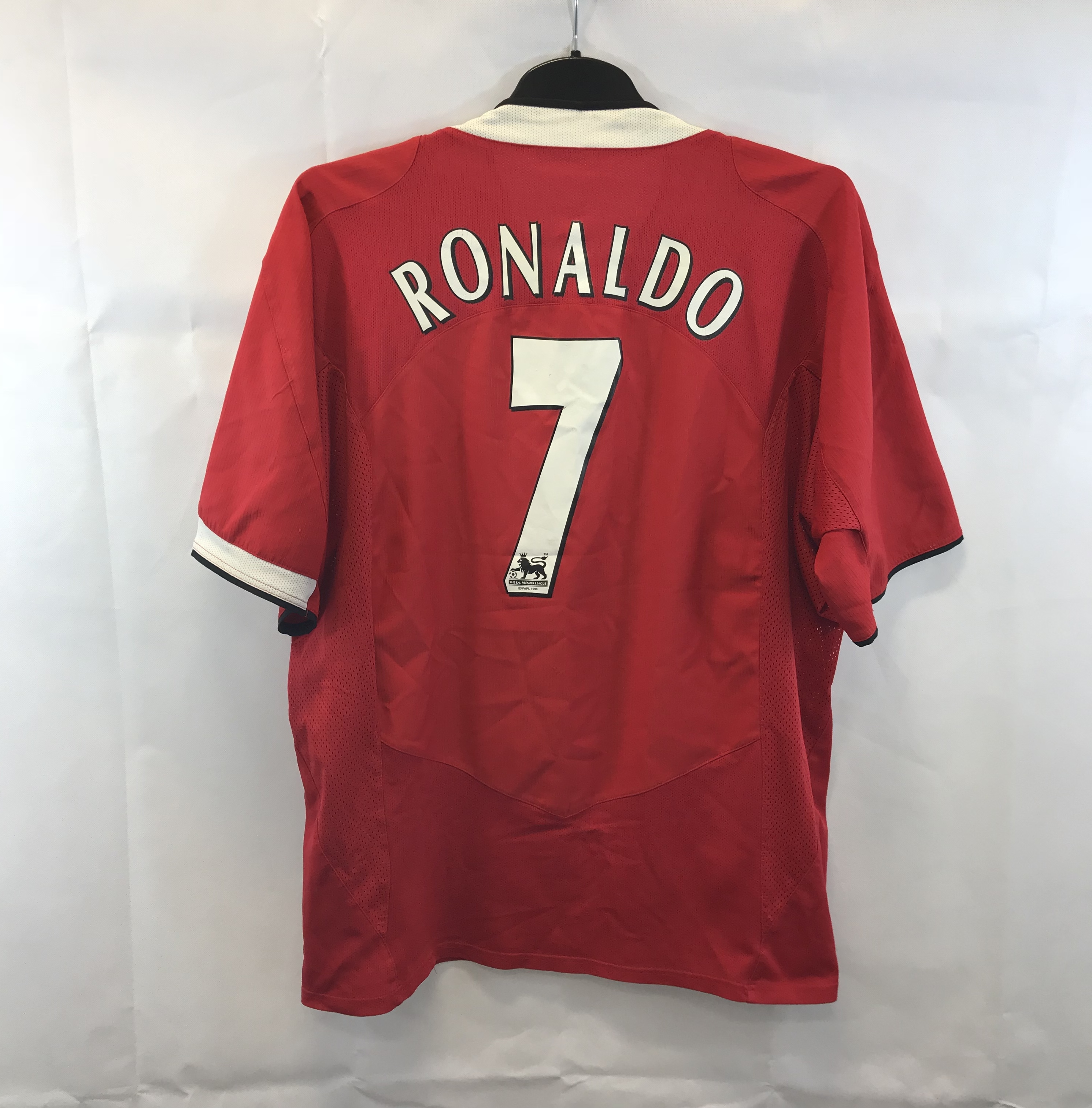 new products 5da9d 36ba8 Manchester United Ronaldo 7 Home Football Shirt 2004/06 Adults XL Nike