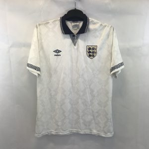 a4ccba92e England Home Football Shirt 1990 92 Adults Large Umbro