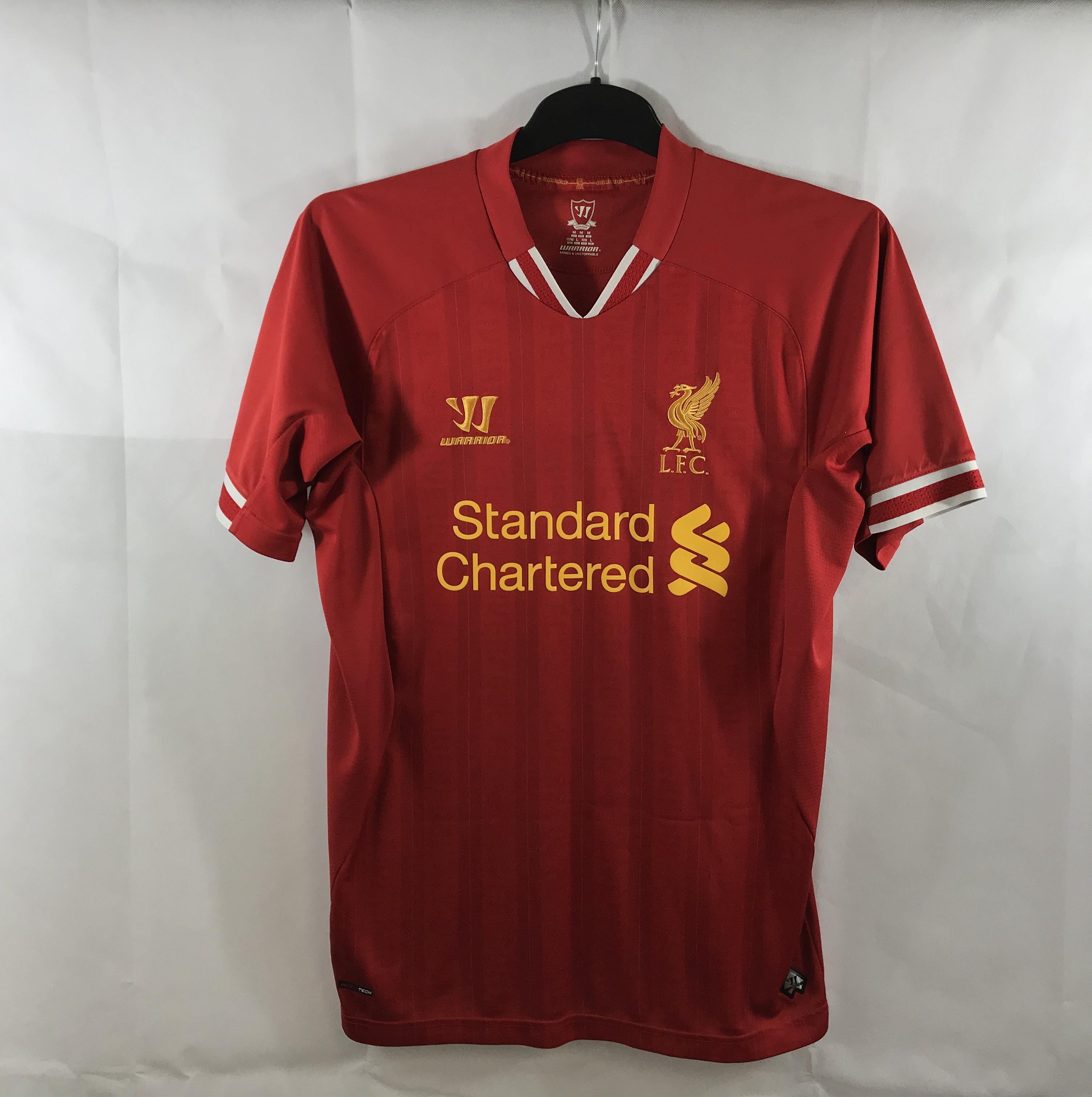 official photos 89075 273ab Liverpool Home Football Shirt 2013/14 Adults Medium Warrior