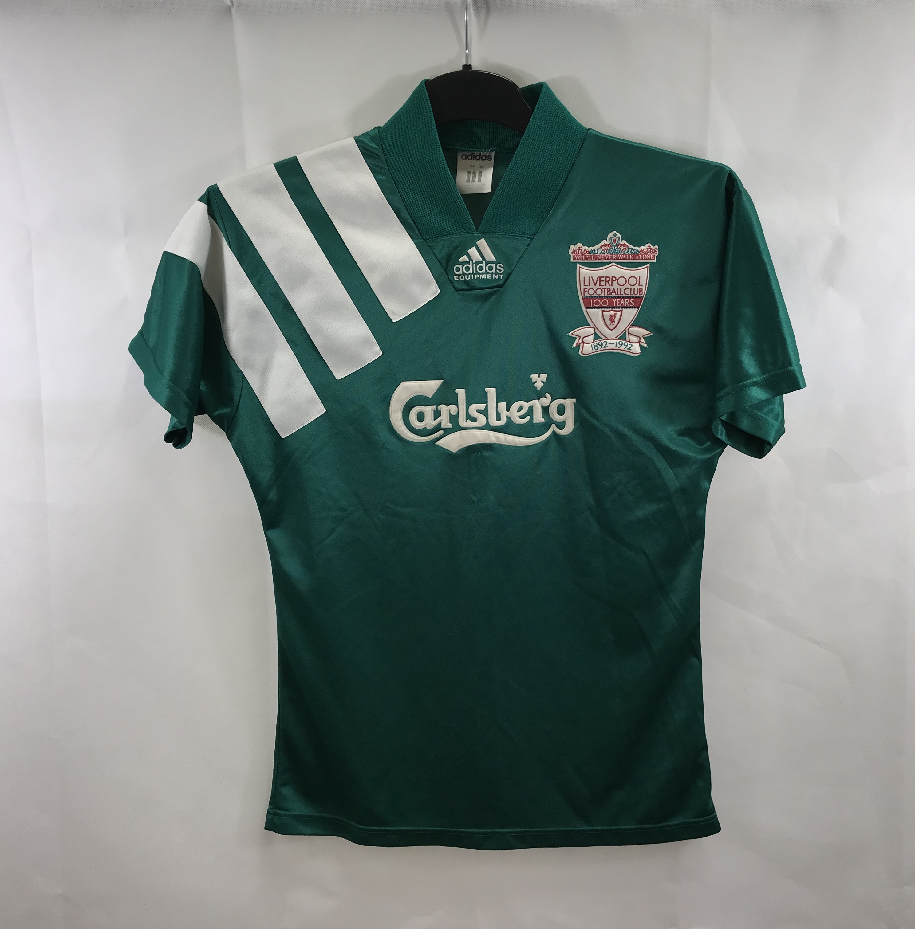 the best attitude 7f4da e1cb5 Liverpool Centenary Away Football Shirt 1992/93 Adults Small Adidas