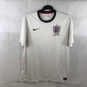 b48aed405e1 England 150th Anniversary Home Football Shirt 2013 Adults XL Nike