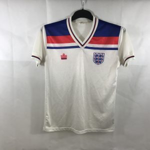 e44875af6c0 England Home Football Shirt 1980 83 Adults Small Admiral