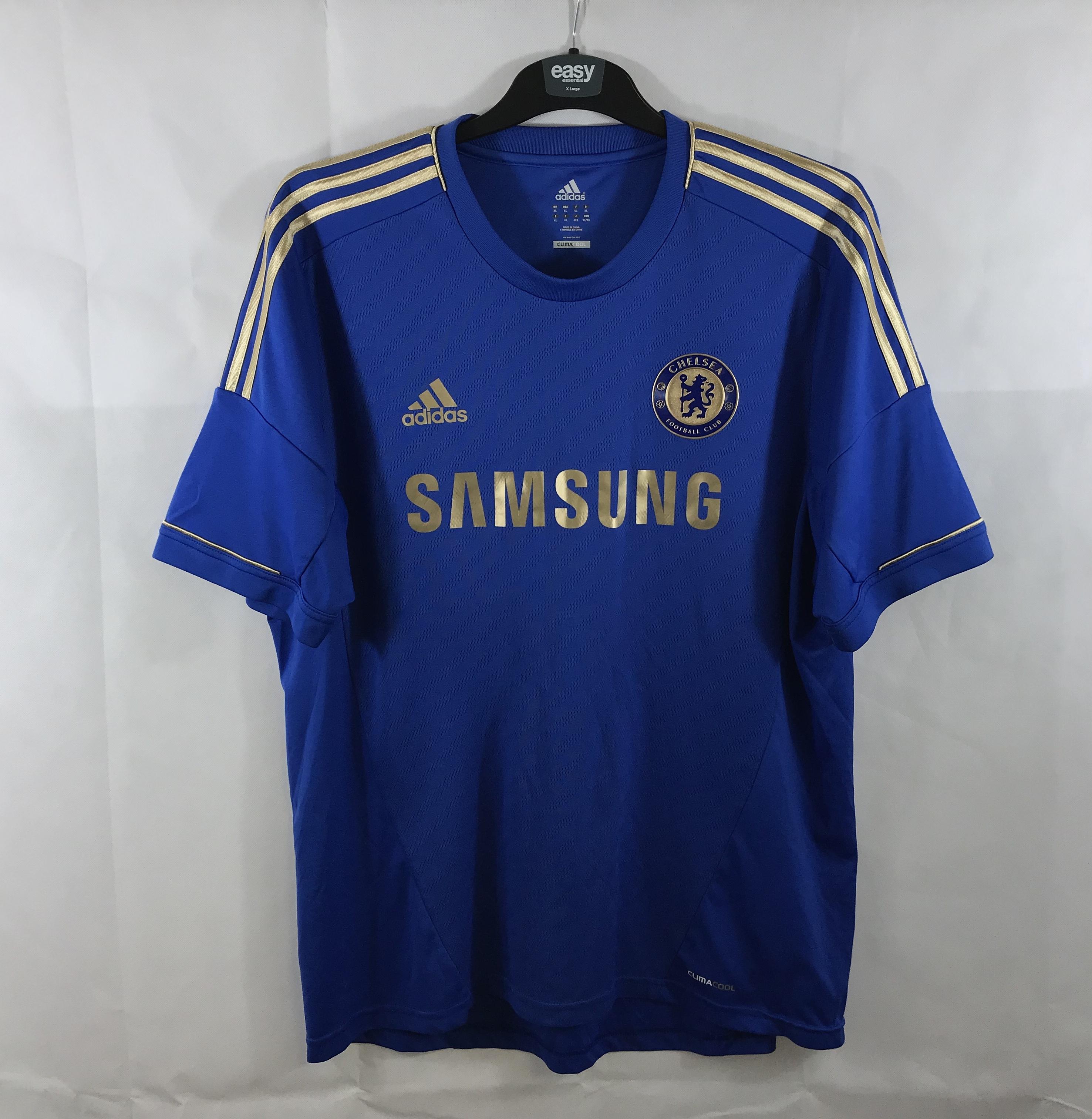 watch 55de9 f348a Chelsea Terry 26 Home Football Shirt 2012/13 Adults XL Adidas