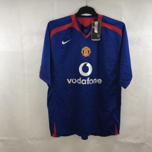 18166633a BNWT Manchester United Away Football Shirt 2005/06 Adults XL Nike