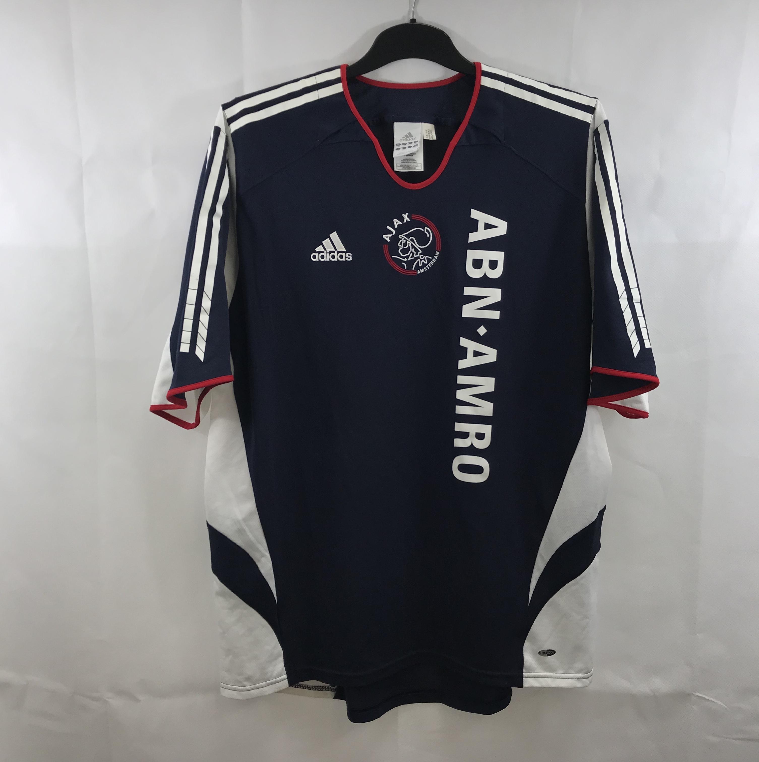 best sneakers 95815 42878 Ajax Away Football Shirt 2005/07 Adults XXL Adidas