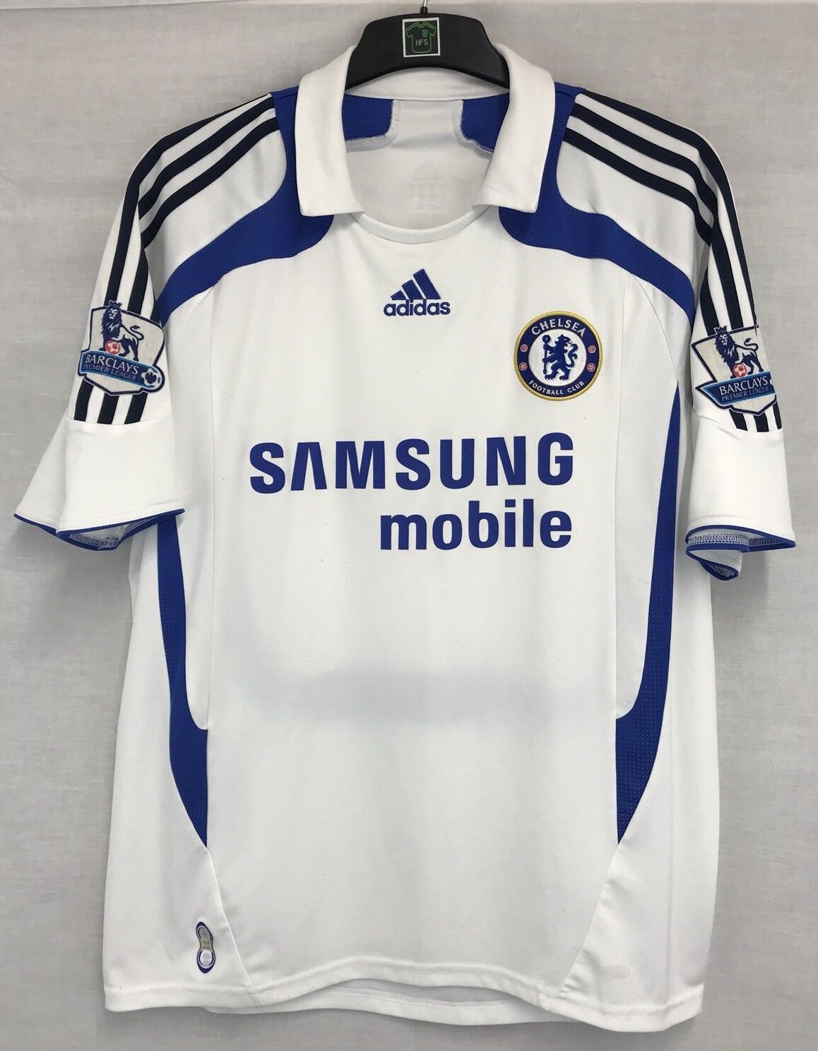 reputable site 15401 a6e15 Chelsea Frank Lampard 8 Football Shirt 2007/08 Adults Large Adidas