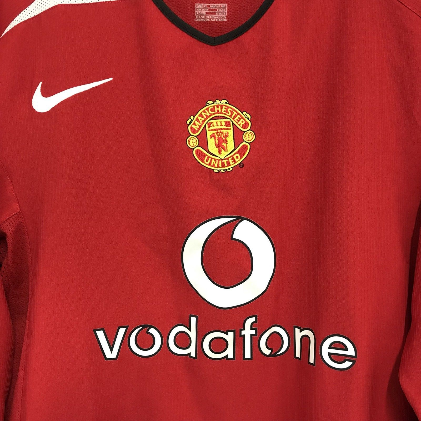 288339d80be Manchester United Long Sleeve Football Shirt 2004 06 Adults XL Nike. 🔍.  instock