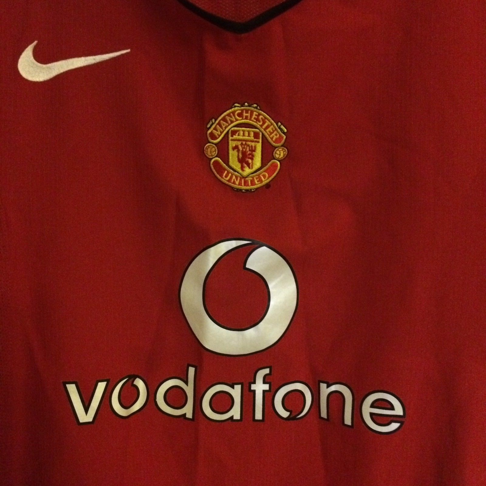 Manchester United Wayne Rooney 8 Football Shirt 2004 06 Adults Large Nike.  🔍. instock ea1ccdb04